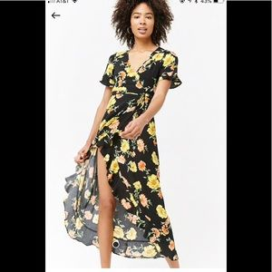 New w/out Tags Forever 21 Floral Wrap Dress
